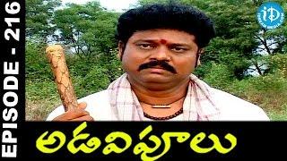 Adavipoolu || Episode 216 || Telugu Daily Serial - IDREAMMOVIES