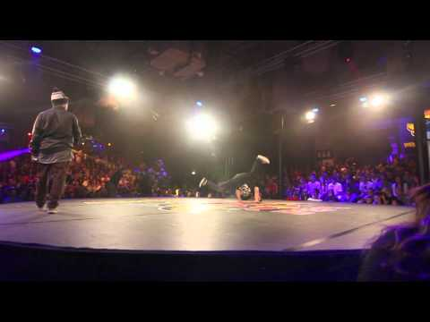 Red Bull BC One 2012 - Western European Qualifier - 1st round - Bruce vs Mounir