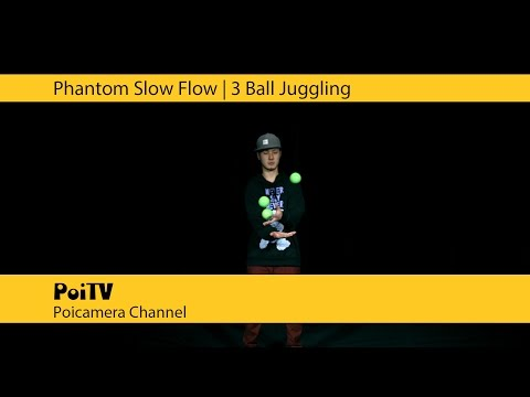Super Slow Juggling : 3Ball #2