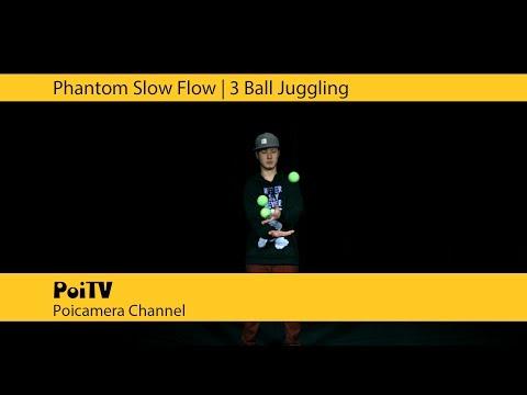 スーパースロージャグリング:3ボール #2 | Daggle Komei