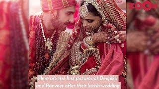 First OFFICIAL Pictures REVEALED of Deepika Padukone & Ranveer Singh Wedding - ZOOMDEKHO