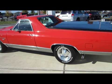 ** 1972 CHEVY EL CAMINO ** 350 ** FACTORY A/C ** TILT **  SOLD !!!!