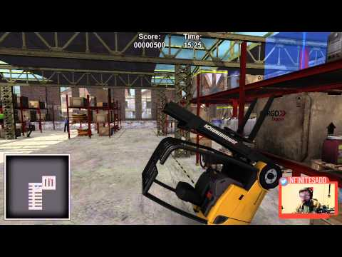 Forklift Pull Ups (Warehouse and Logistics Simulator)