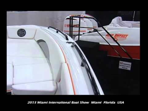 Poker Runs America - 2013 Miami International Boat Show - Deep Impact Boats Part II