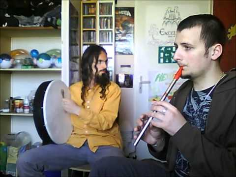 Tin whistle et Bodhran: Jigs