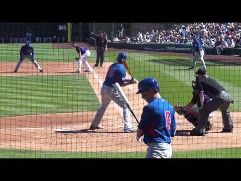2015 Cubs Spring Training - Kris Bryant