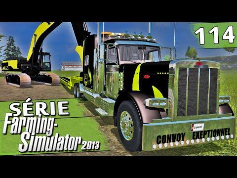 Farming Simulator 2013 - Escavadeira e Caminhão