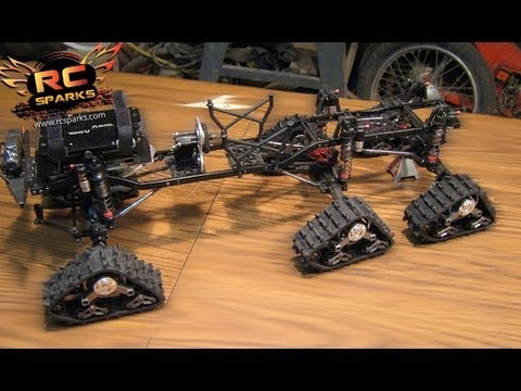 "RC ADVENTURES - 6x6 TRACKS!  PROJECT: ""HEAVY DUTY OVERKiLL"", UPDATE!"