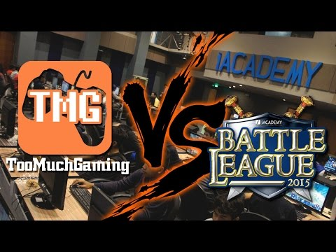 TooMuchGaming VS iAcademy Battle League (March 14-15, 2015)