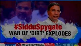 Siddaramaiah government sets aside a whopping Rs 10 crore for 'snooping': Nation at 9 - NEWSXLIVE