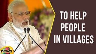 Modi Asks Gram Pradhans To Help People In Villages | Mango News - MANGONEWS