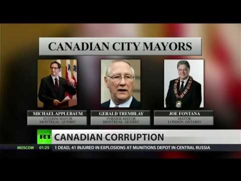 Canadian corruption and crack smoking mayors