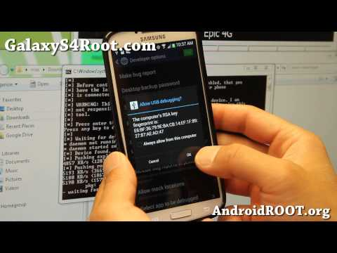 How to Root Verizon Galaxy S4!