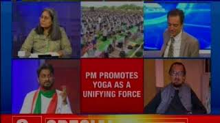 India's 'soft power' boost; Yoga power rocks the globe — The X Factor - NEWSXLIVE