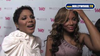 chanel-: Braxton Sisters attend the launch party for their new WE tv series 'Braxton Family Value