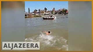 🇮🇶 Overloaded ferry sinks in Iraq's Tigris River, at least 100 die l Al Jazeera English - ALJAZEERAENGLISH