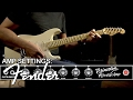 Fender Competition Series Delay Pedal Demo