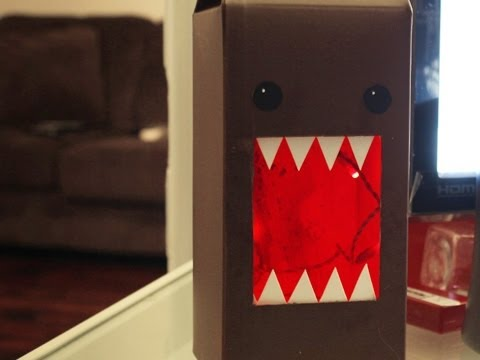 Domo Lamp - DIY GEEKY GOODIES
