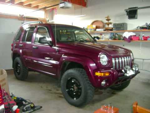Before are after lift pictures on 2002 jeep liberty and some off roading