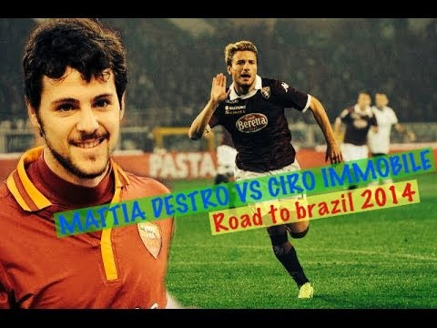 DESTRO VS IMMOBILE, Skills & Goal. Road to Brazil 2014!!! |HD|