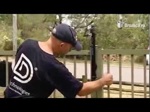 Zavoare antiefractie pentru porti metalice si de lemn MagnaLatch Vertical Pull