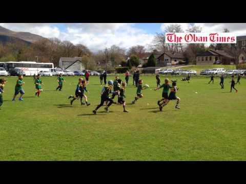Mini rugby at Taynuilt April 2015