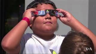 National Air and Space Museum Ready for Thousands to View Eclipse - VOAVIDEO