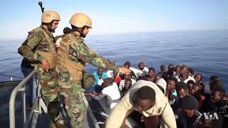 Libyan Coast Guard Threatens NGO Rescue Ships in Mediterranean - VOAVIDEO