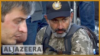 🇦🇲 Protesters return to Armenia's streets after talks cancelled | Al Jazeera English - ALJAZEERAENGLISH