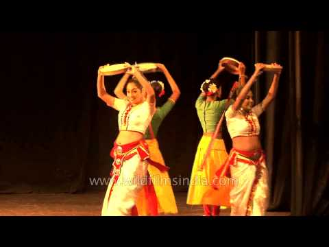 Sri Lankan dancers performing LIVE