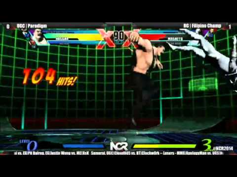 NCR2014 UMVC Top 16 Paradigm vs Filipino Champ