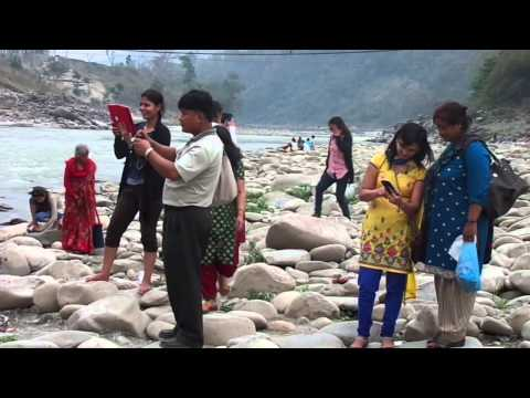 full masti in manokamna river!