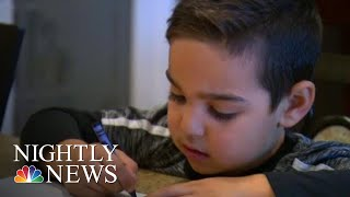4-Year-Old Accidentally Addresses Santa Letter To Satan | NBC Nightly News - NBCNEWS