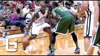 Jamal Crawford Showing Off Sick Handles & Jumpers In Pro Am