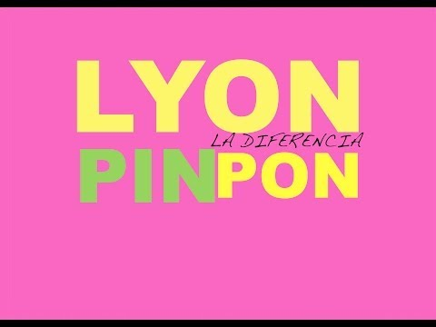 lyon la diferencia PIN PON VIDEO LYRICS