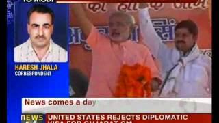 No visa to Narendra Modi: US - NewsX view on youtube.com tube online.