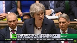 'Guilty until proven innocent': UK implements sanctions against Russia over Skripal case - RUSSIATODAY