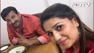 अब बीजेपी सांसद मनोज तिवारी से मिलीं सपना चौधरी - NDTVINDIA