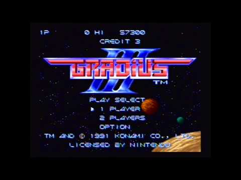 Gradius III: Yolo - One life gaming
