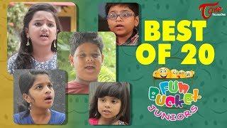 Fun Bucket JUNIORS   Best Of 20   Kids Funny Videos   Comedy Web Series - TELUGUONE