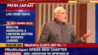 PM Narendra Modi addresses business leaders meet - NEWSXLIVE