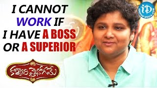I Cannot Work If I Have A Boss or A Superior - Nandini Reddy || Talking Movies With iDream - IDREAMMOVIES