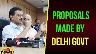 Kejriwal Briefs After Meeting LG & Discusses About The Proposals Made By Delhi Govt | Mango News - MANGONEWS
