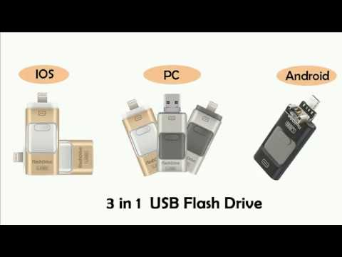 Best USB flash drive 3 in 1 Thumb Stick usb накопитель usb флешка Iphone Ipad PC Android
