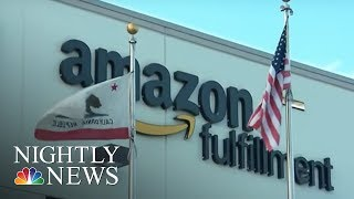 Online shopping trend creates boom towns across the U.S. | NBC Nightly News - NBCNEWS