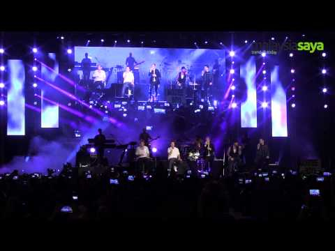 Backstreet Boys -As Long As You Love Me at Twin Towers @LIVE 2013