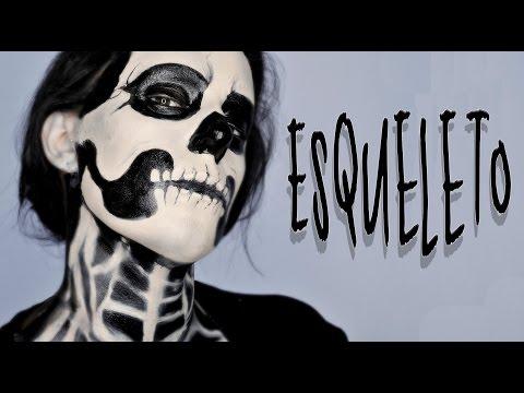 Maquillaje Halloween Esqueleto tutorial | Silvia Quiros