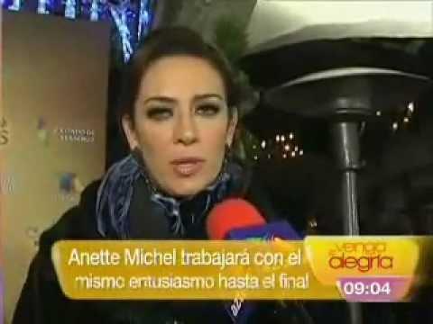 Anette Michel Inicia con gran éxito La Mujer de Judas - Venga la Alegría