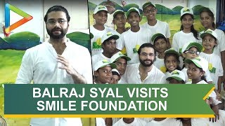 BALRAJ SYAL Spend time with childrens at Smile Foundation - HUNGAMA