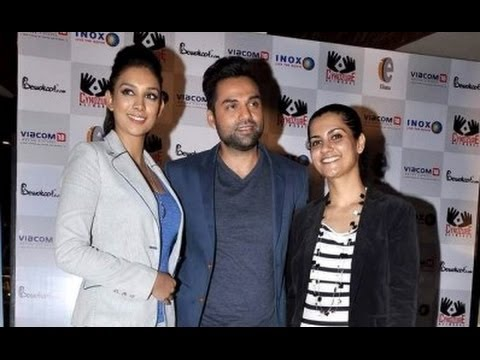 Abhay Deol Launches 'One By Two' Merchandise
